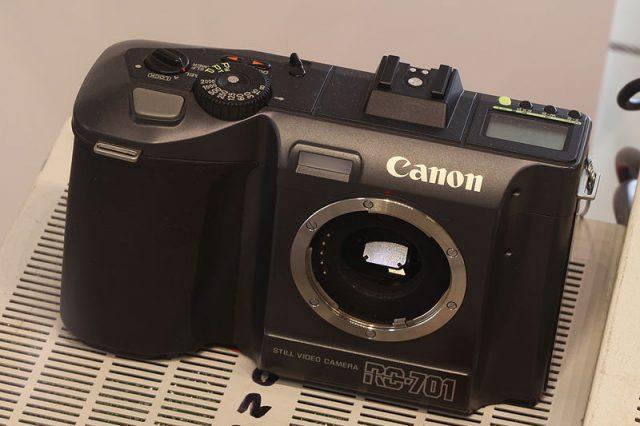 Canon RC-701, 1986