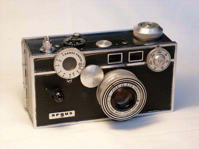 Argus C3, 1939