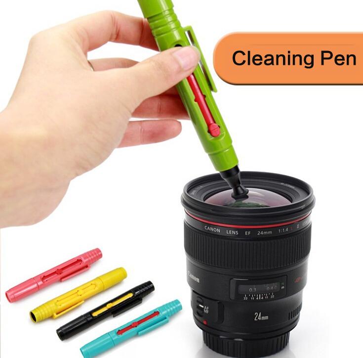 Clean camera lens