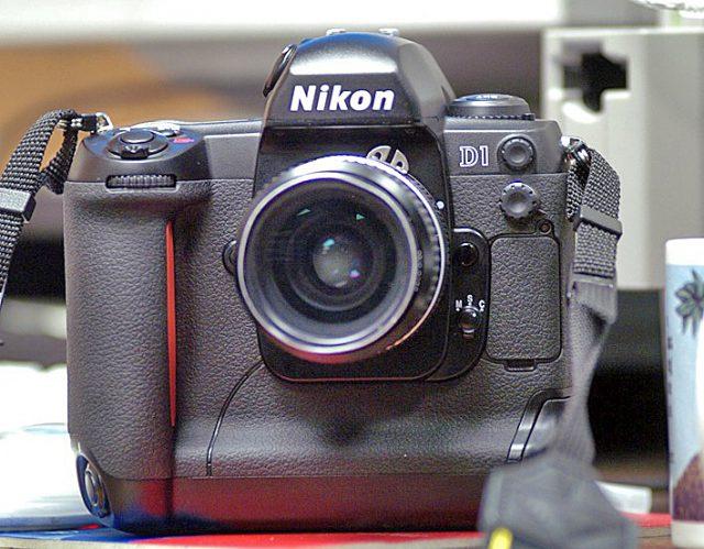 Nikon D1, 1999