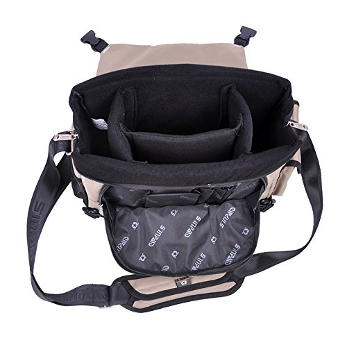 Yaagle Oxford Waterproof Anti-Shock DSLR Gadget Camera Bag
