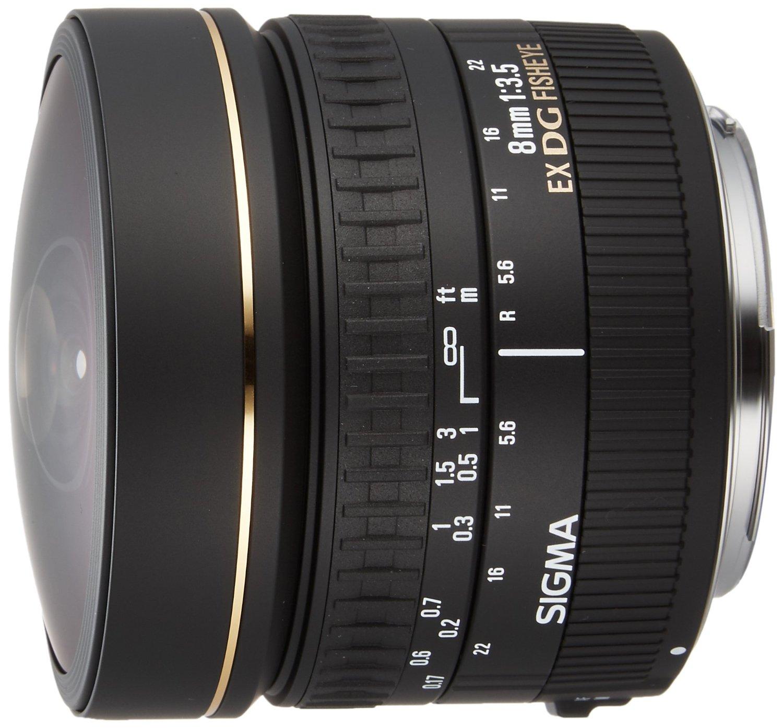 Sigma 8mm f/3.5 EX DG