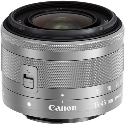 Canon EF-M 15-45mm f/3.5-6.3 IS Silver
