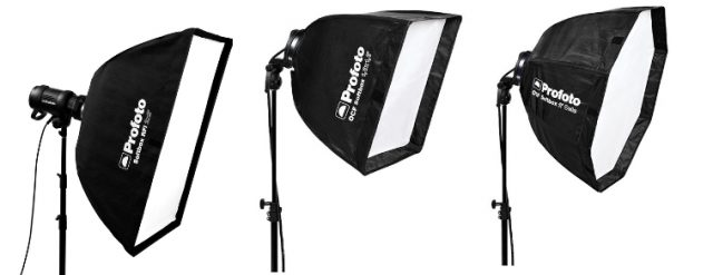 types of softboxes