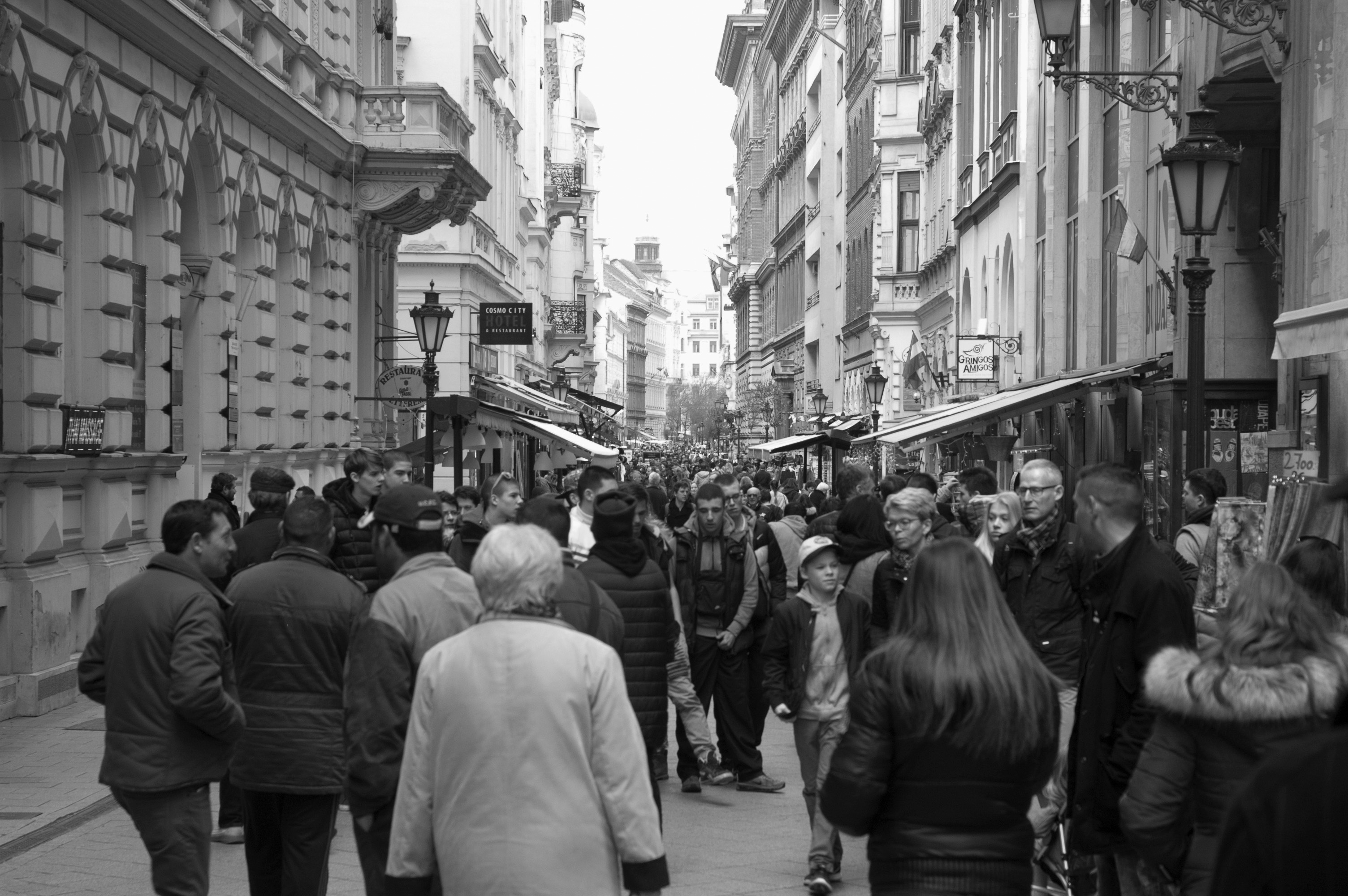 street and people