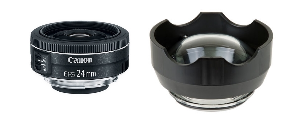 wide 24mm with dome