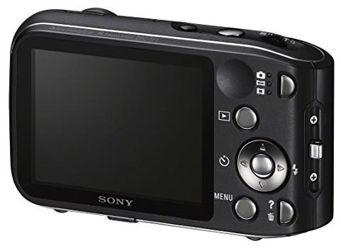 Sony DSC-TF1/B 16 MP Waterproof Digital Camera