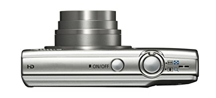 Canon PowerShot ELPH 180 (Silver) with 20.0 MP