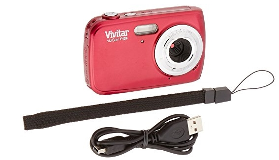 Vivitar VF126 ViviCam F126 Digital Camera