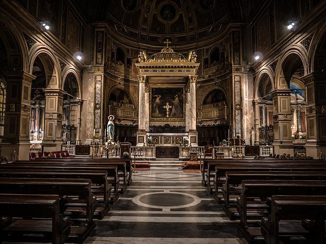 indoor church