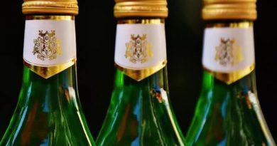 wine bottels