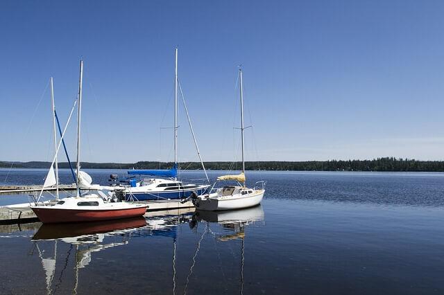 boats - sunny day