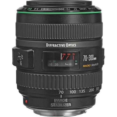 EF 70-300mm f/4.5-5.6 DO IS USM