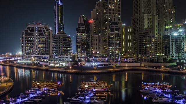 cityscape at night- ehabphotography