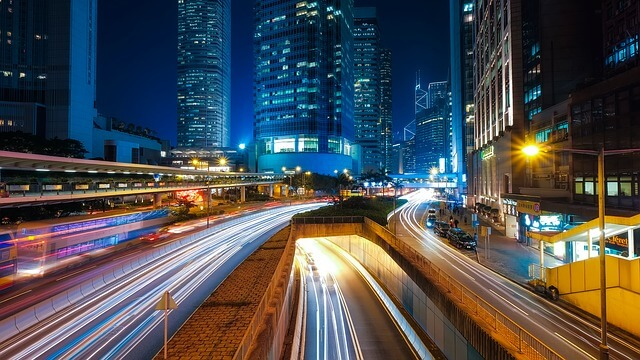 Light trails - cityscape - ehabphotography