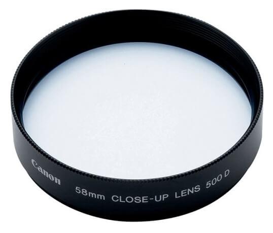 close-up lens