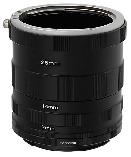 Fotodiox extension tube set