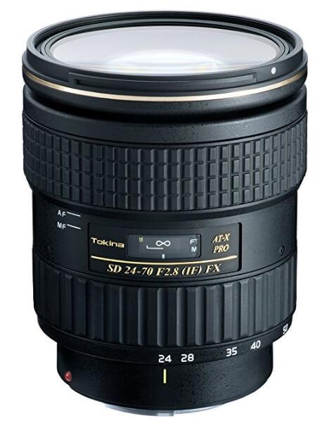 Tokina AT-X 24-70mm f/2.8 PRO FX Canon EF