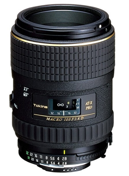 Tokina 100mm f/2.8 AT-X Pro D Macro Canon EF
