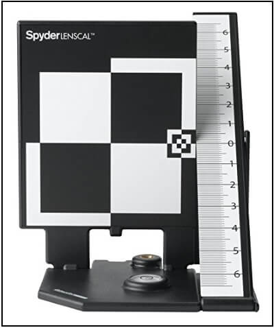 Datacolor SpyderLensCal SLC100 Calibration Charts