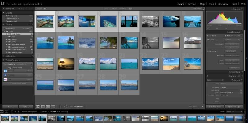 Lightroom 5 Catalog - Adobe Photoshop Lightroom