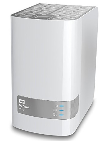 WD 8TB My Cloud Mirror Personal Network Attached Storage - NAS
