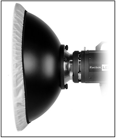 "Fotodiox Pro Beauty Dish 22"" with Speedring for Bowens"