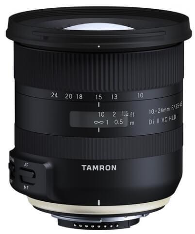 Tamron 10-24mm F/3.5-6.3 Di-II VC HLD