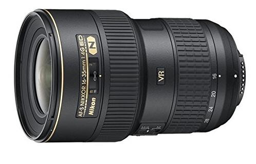 Nikon AF-S FX NIKKOR 16-35mm f/4G ED VR