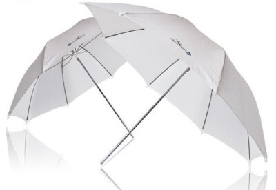 LimoStudio-2x-33_-Studio-Lighting-Umbrellas-Translucent-White-soft-Umbrella.
