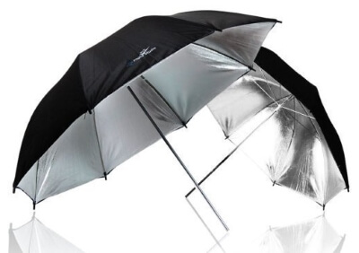 LimoStudio-2-x-33_-Double-Layer-Black_Silver-Photo-Studio-Reflector-Umbrella