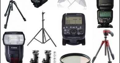 Essintial camera gear