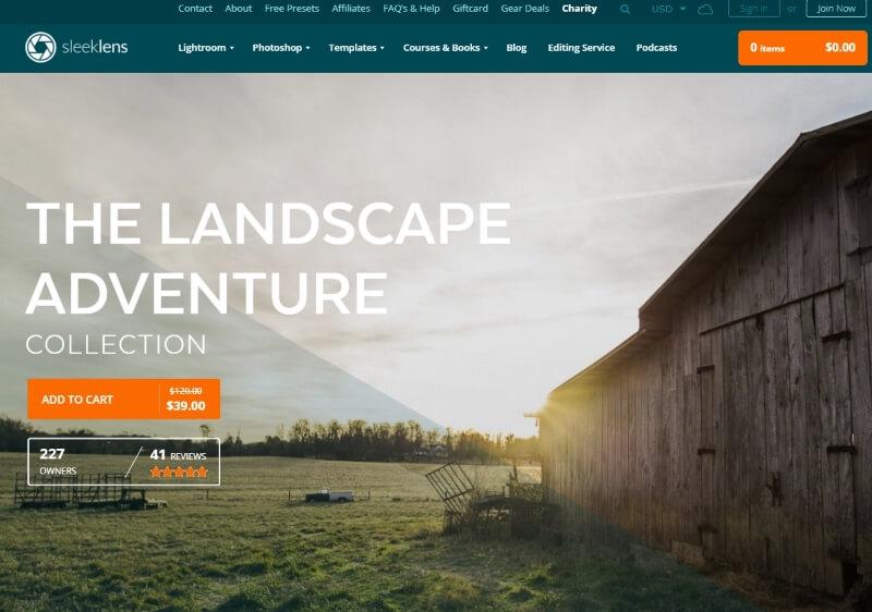 landscape advengure