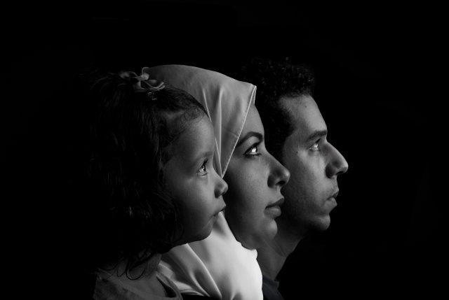 family portraite