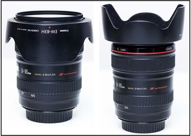 storing lens hood