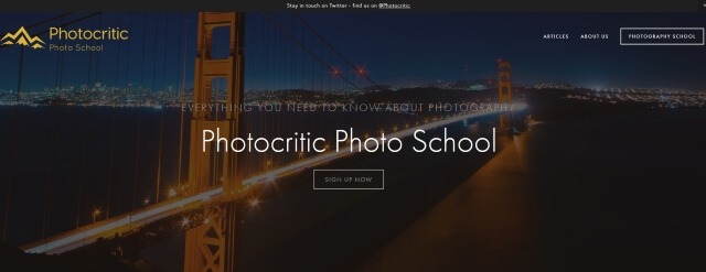 Photocritic Photo School