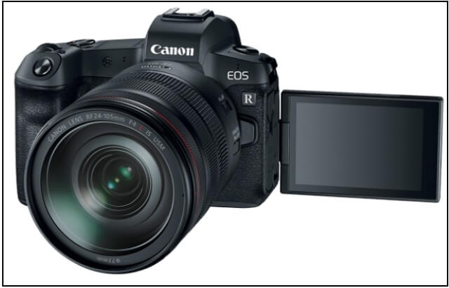 EOS R full frame mirrorless Canon camera