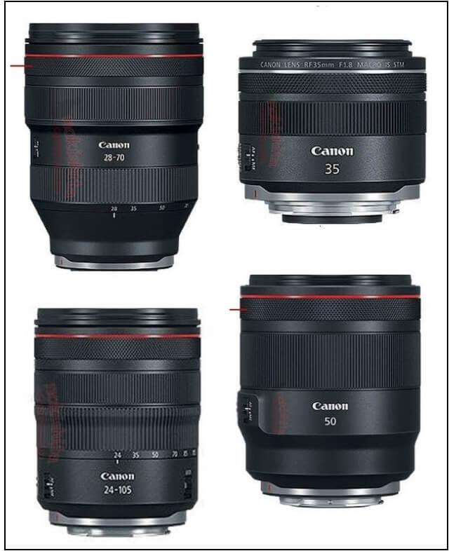 EOS R lenses