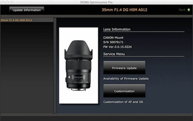 How to Use Sigma USB Dock- Calibrate and Customize Your Sigma Lens