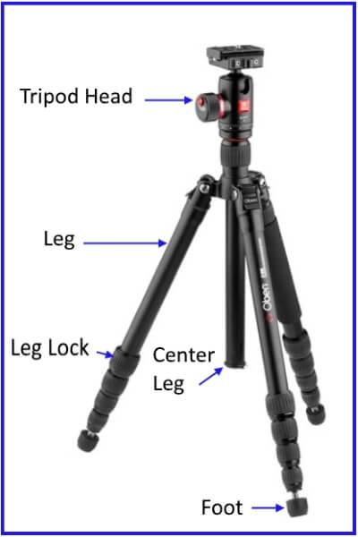 tripod main parts