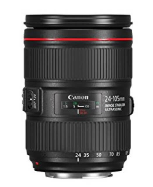 canon 24-105mm F4L IS II USM