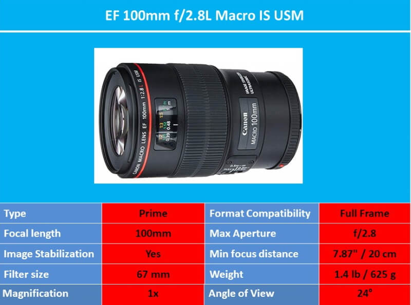 EF 100mm f2.8L Macro IS USM