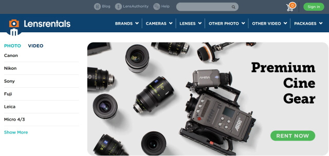 How To Rent Camera Lenses Online?