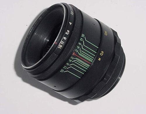 swirly bokeh lens