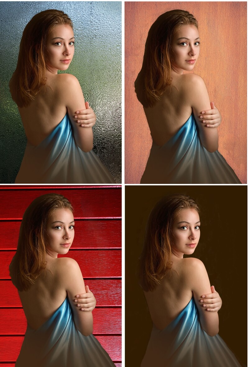 How to Use Digital Background in Photoshop