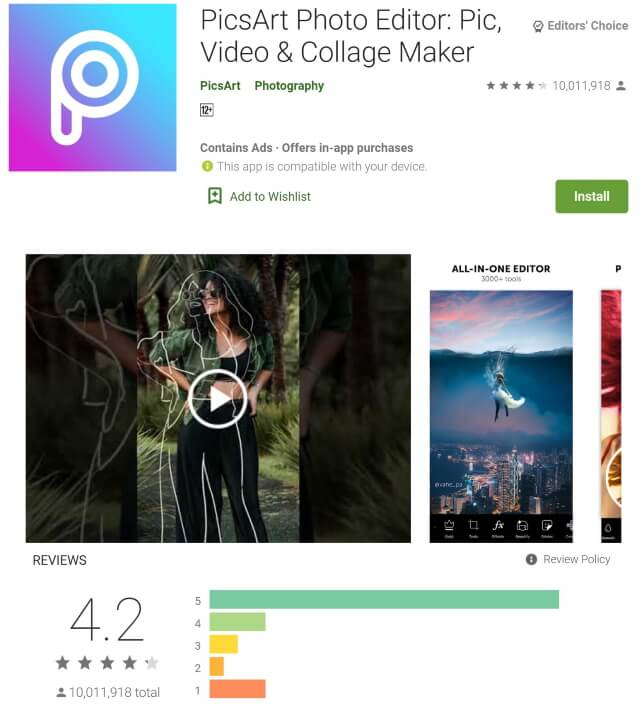 What Is The Best Photo Editing App For Android?