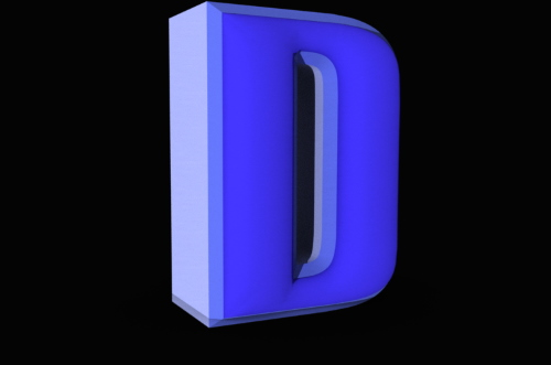 Creating 3D Text Photoshop