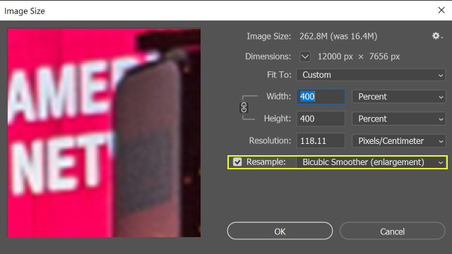 Enlarge Image In Photoshop without Losing Quality