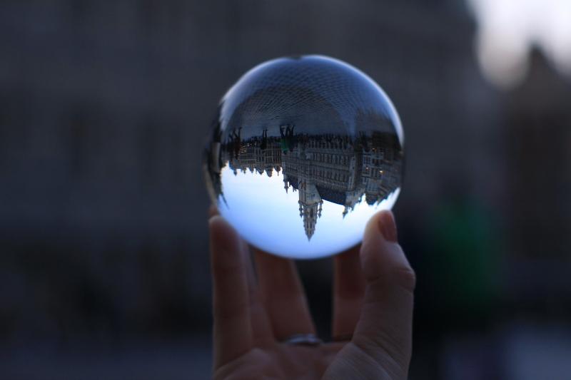 Crystal Ball Photography Ideas