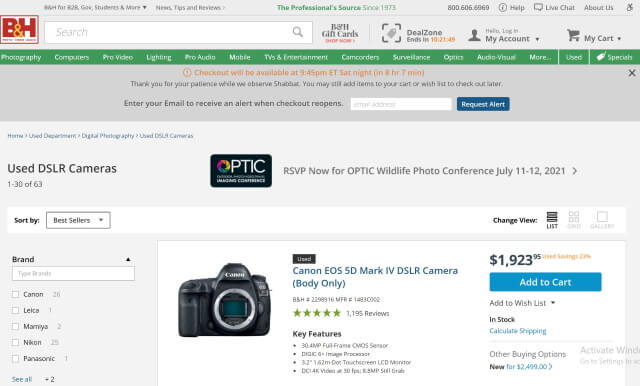 What is the Best Place to Buy Used Cameras